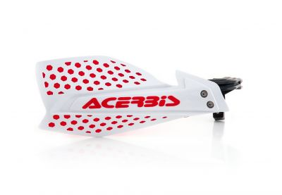 ACERBIS X-ULTIMATE HANDGUARDS WHITE/RED