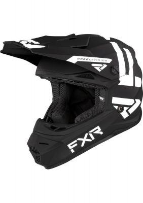 FXR YOUTH LEGION HELMET 21 BLACK/WHITE
