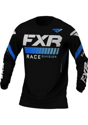 FXR 2021 REVO MX JERSEY BLACK/BLUE