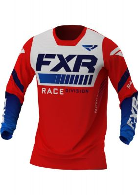 FXR 2021 REVO MX JERSEY RED/WHITE/BLUE