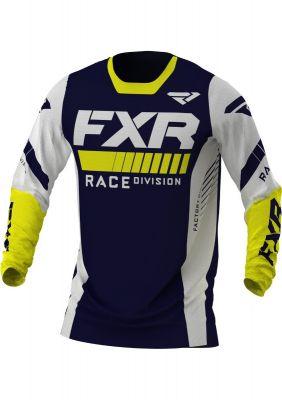 FXR 2021 REVO MX JERSEY MIDNIGHT/WHITE/YELLOW