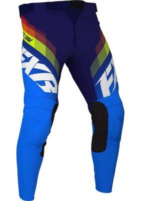 FXR 2021 YTH CLUTCH MX PANT BLUE/NAVY/HI VIS