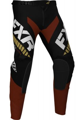 FXR 2021 REVO MX PANT BLACK/RUST/GOLD