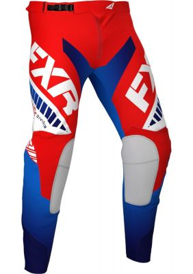 FXR 2021 REVO MX PANT RED/WHITE/BLUE