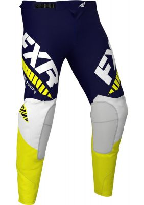 FXR 2021 REVO MX PANT MIDNIGHT/WHITE/YELLOW