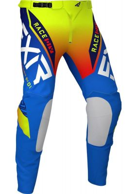 FXR 2021 HELIUM MX PANT BLUE/HI VIS/RED