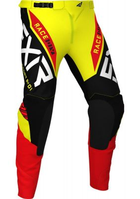 FXR 2021 HELIUM MX PANT YELLOW/BLACK/RED