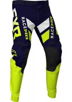 FXR 2021 PODIUM MX PANT NAVY/HI VIS/WHITE