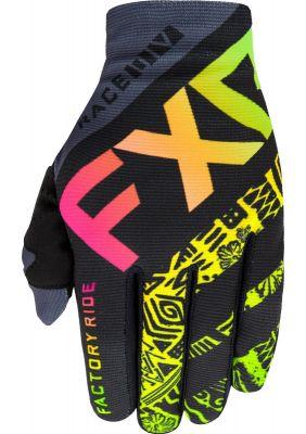 FXR 2021 YTH SLIP-ON LITE MX GLOVE SHERBERT AZTEC