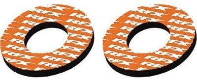 RFX Sport Grip Donuts Pair - ORANGE