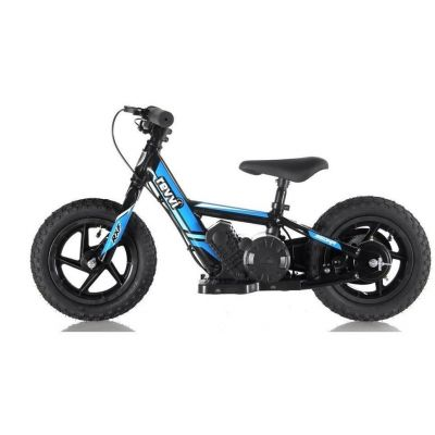 "NEW! REVVI 12"" BLUE ELECTRIC BALANCE BIKE, FOR KIDS 2-6 YEAR OLDS"