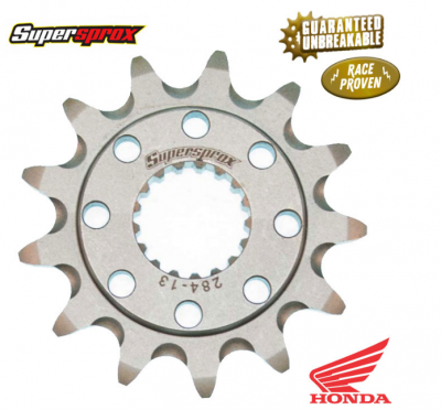SUPERSPROX  FRONT SPROCKET HONDA CR250/500 88-07, CRF450R/X/RX 02-21