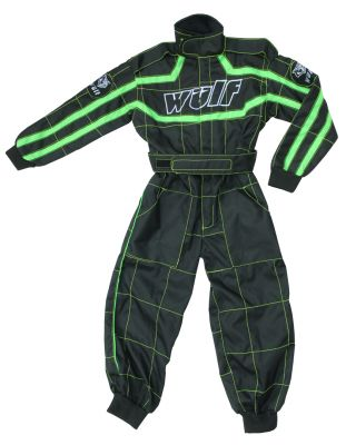 WULFSPORT CUB RACING SUIT GREEN