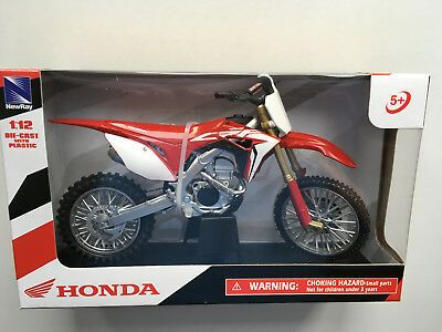 HONDA CRF 450 2017 STANDARD FACTORY GRAPHIC 1:12 SCALE