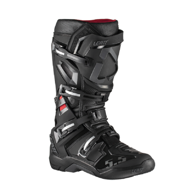 LEATT GPX 5.5 FLEXLOCK BOOT BLACK