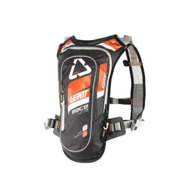 LEATT  MOTO RACE HF 2.0 XL HYDRATION PACK ORANGE/BLACK
