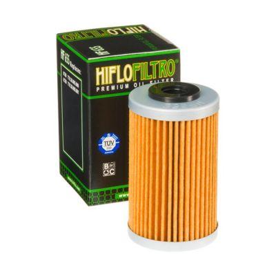 HIFLO OIL FILTER KTM/HUSKY SX-F250 06-12, SX-F450 13-15, EXC-F250 07-11, FE/FC450 14-16 1ST FILTER