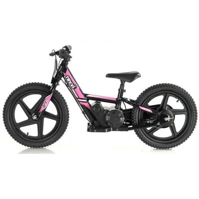 "NEW! REVVI 16"" PINK ELECTRIC BALANCE BIKE, FOR KIDS 5+ YEAR OLDS"