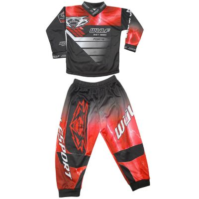 WULFSPORT FORTE TODDLER SET RED