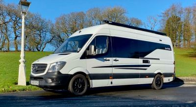 2015 Mercedes Sprinter Race van with garage SOLD MORE AVAILABLE