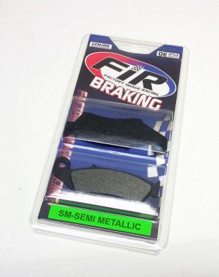 BRAKE PADS SEMI-METALLIC SM FIR-BRAND FACTORY IMAGE RACING - Front Honda CR/CRF 125-500 95-20 Kawasaki KX/KXF125-500 94-20 Suzuki RM/RMZ125-450 05-20 Yamaha YZ/YZF 98-06