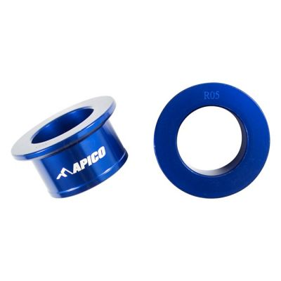 APICO REAR WHEEL SPACER YAMAHA YZ250F/450F 09-21 BLUE