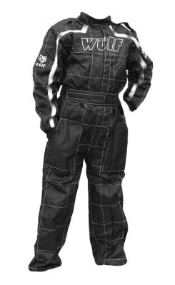 WULFSPORT CUB RACING SUIT BLACK